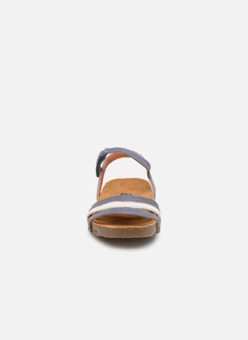 Sandalen Art I Breathe 998 blau schuhe getragen