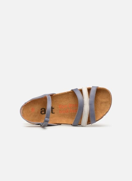 Sandalen Art I Breathe 998 blau ansicht von links