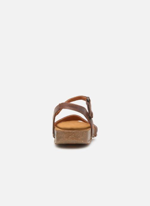 Sandales et nu-pieds Art I Breathe 998 Marron vue droite