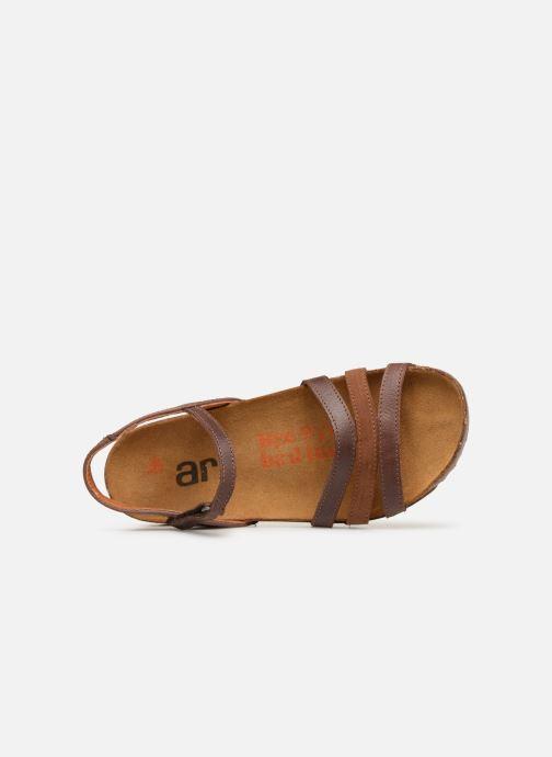 Sandalen Art I Breathe 998 braun ansicht von links
