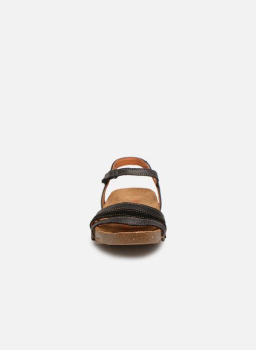 Sandales et nu-pieds Art I Breathe 998 Noir vue portées chaussures