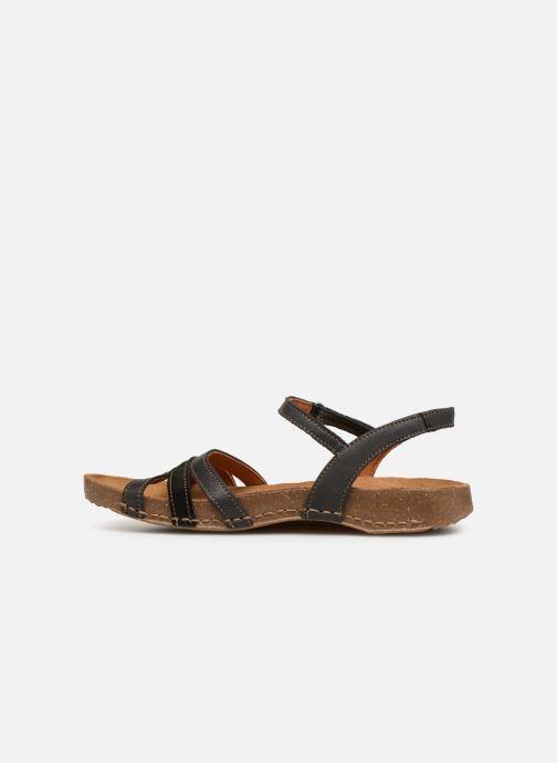 Sandales et nu-pieds Art I Breathe 998 Noir vue face