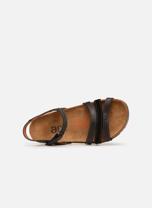 Sandales et nu-pieds Art I Breathe 998 Noir vue gauche