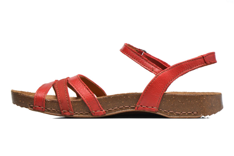 Sandales et nu-pieds Art I Breathe 998 Rouge vue face