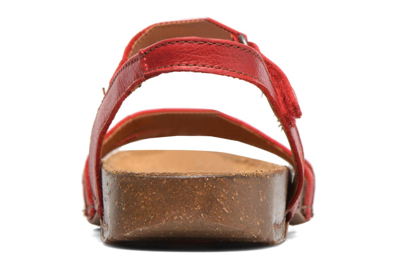 Sandales et nu-pieds Art I Breathe 998 Rouge vue droite