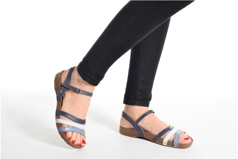 Sandales et nu-pieds Art I Breathe 998 Bleu vue bas / vue portée sac