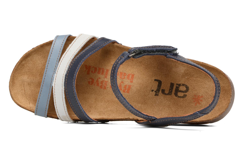 Sandales et nu-pieds Art I Breathe 998 Bleu vue gauche