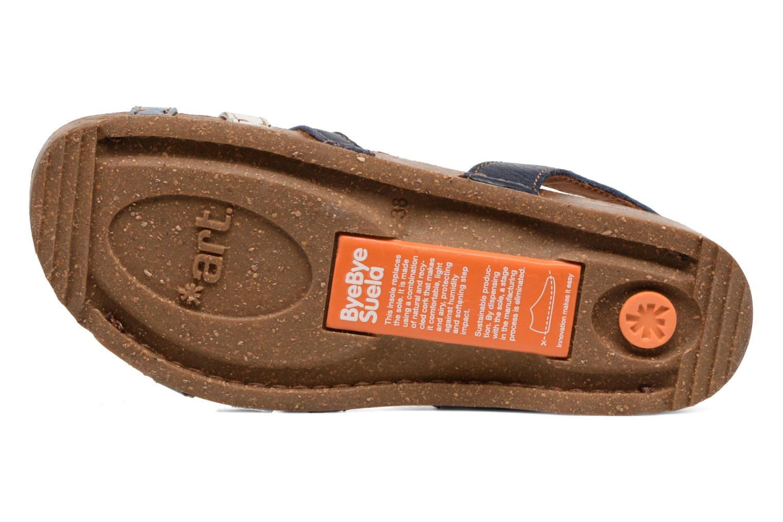 Sandales et nu-pieds Art I Breathe 998 Bleu vue haut