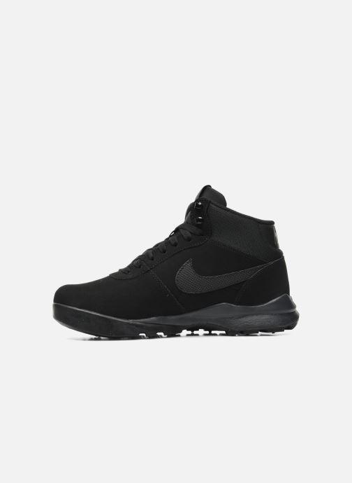 Sneakers Nike Nike Hoodland Suede Nero immagine frontale
