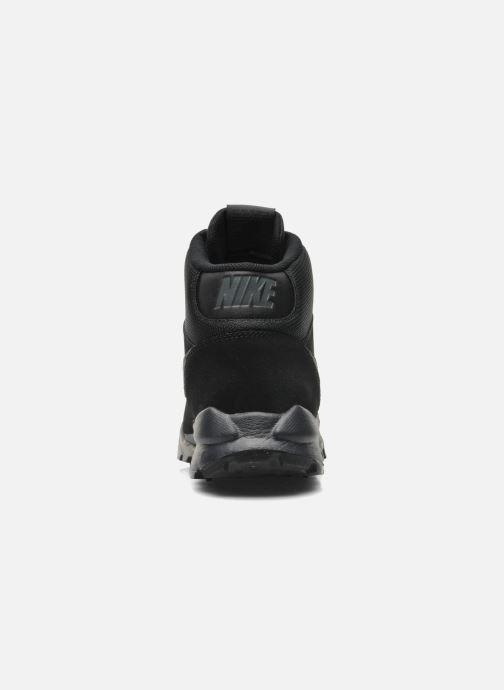 Sneaker Nike Nike Hoodland Suede schwarz ansicht von rechts