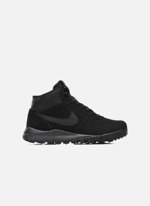 Sneaker Nike Nike Hoodland Suede schwarz ansicht von hinten