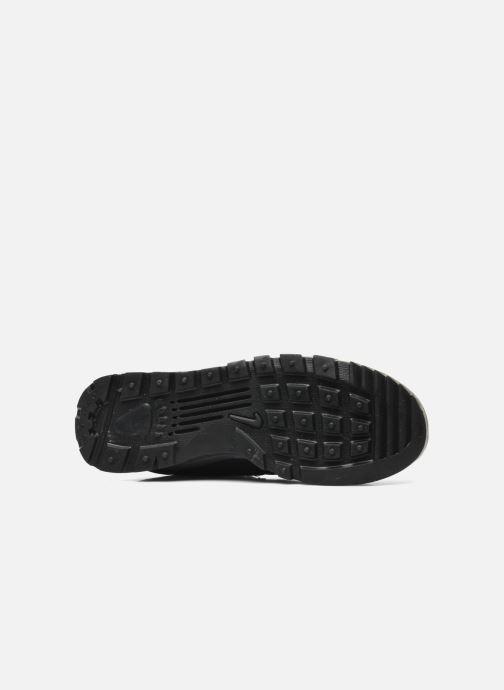Sneaker Nike Nike Hoodland Suede schwarz ansicht von oben