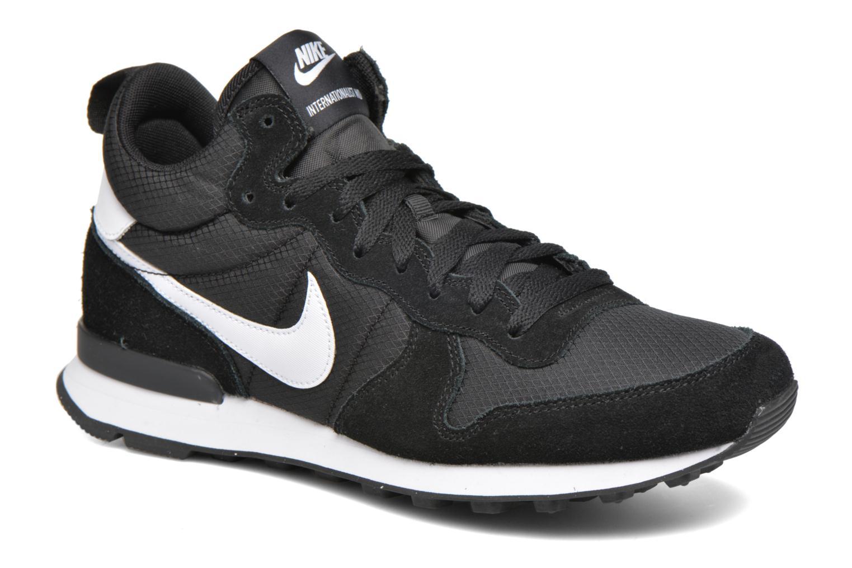 Baskets Nike Nike Internationalist Mid Noir vue détail/paire