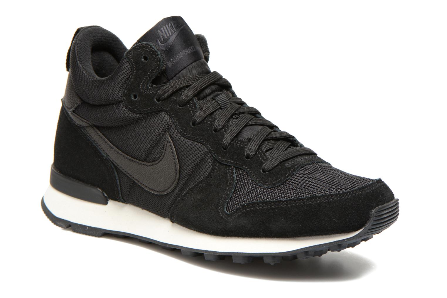 nike w internationalist mid lthr zwart