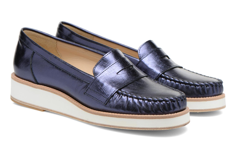 Loafers MAURICE manufacture Basso Blå 3/4 bild