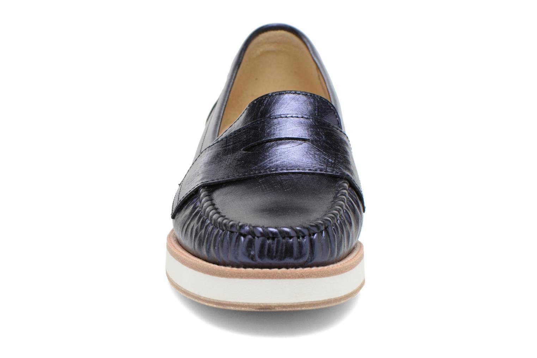 Loafers MAURICE manufacture Basso Blå bild av skorna på