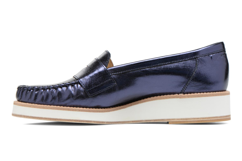Loafers MAURICE manufacture Basso Blå bild från framsidan
