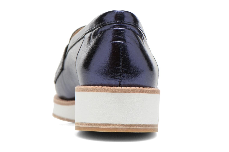 Loafers MAURICE manufacture Basso Blå Bild från höger sidan