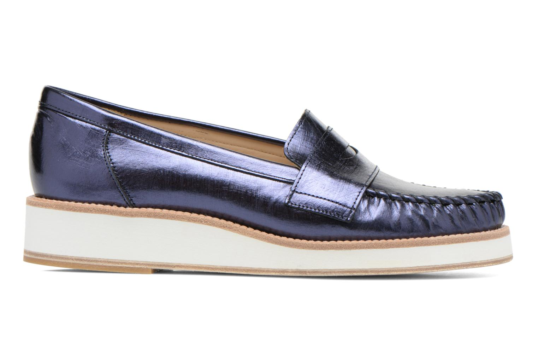 Loafers MAURICE manufacture Basso Blå bild från baksidan