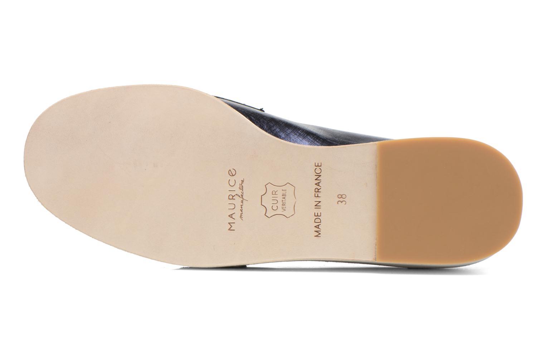 Loafers MAURICE manufacture Basso Blå bild från ovan