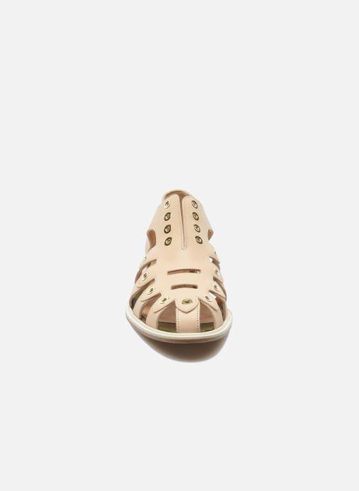 Sandals Clergerie Jador Beige model view