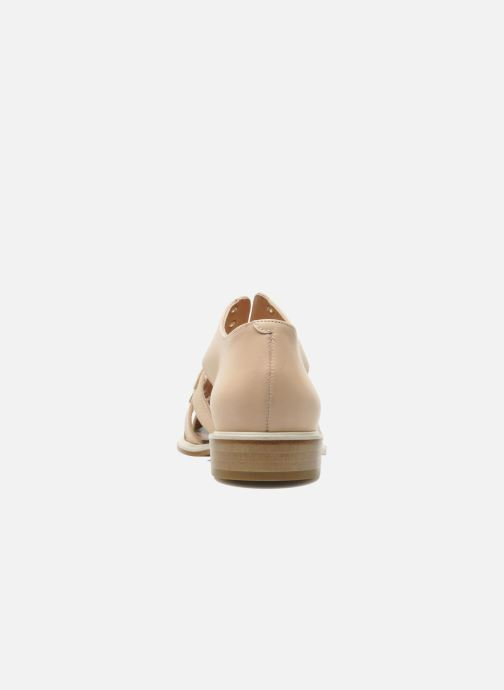 Sandals Clergerie Jador Beige view from the right