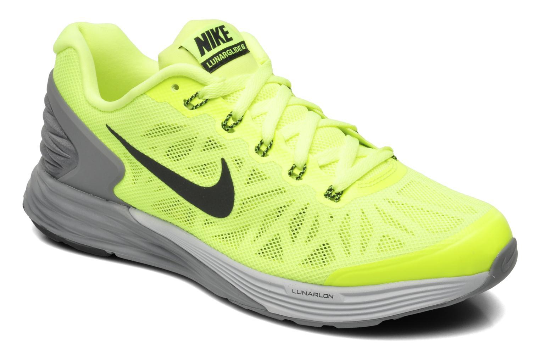 los angeles 0dd6e ea27d ... hot sneakers nike nike lunarglide 6 gs gul detaljeret billede af skoene  42007 6d524