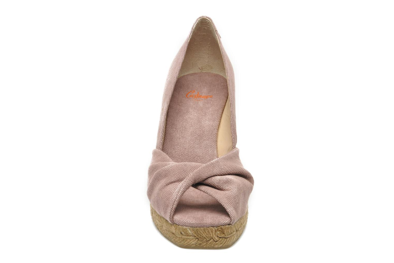 Escarpins Castaner Tulsa8 Rose vue portées chaussures