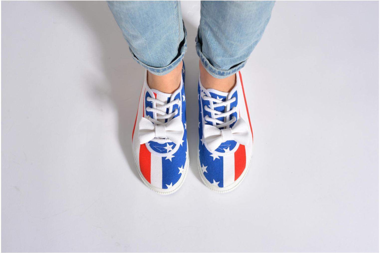 Sneaker Startas Pop America mehrfarbig ansicht von unten / tasche getragen