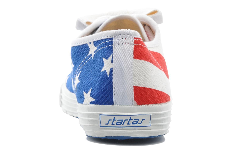 Sneaker Startas Pop America mehrfarbig ansicht von rechts