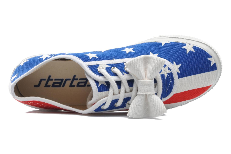Sneaker Startas Pop America mehrfarbig ansicht von links