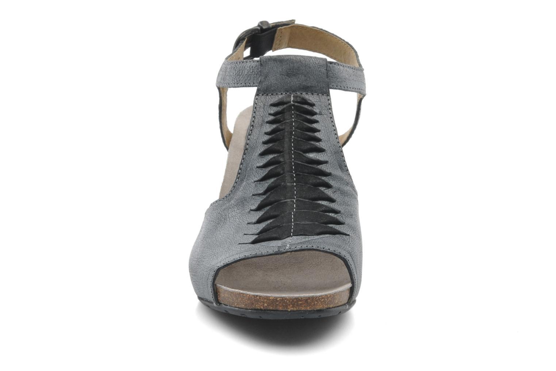 Sandales et nu-pieds Dkode Rosen Gris vue portées chaussures