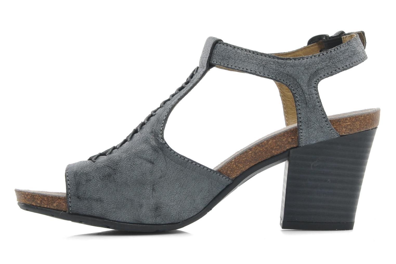 Sandales et nu-pieds Dkode Rosen Gris vue face