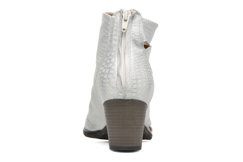 Ankelstøvler Dkode Vayle Sølv Se fra højre