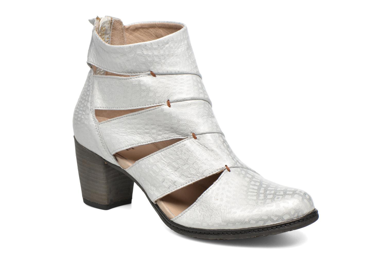 Ankelstøvler Dkode Vayle Sølv detaljeret billede af skoene