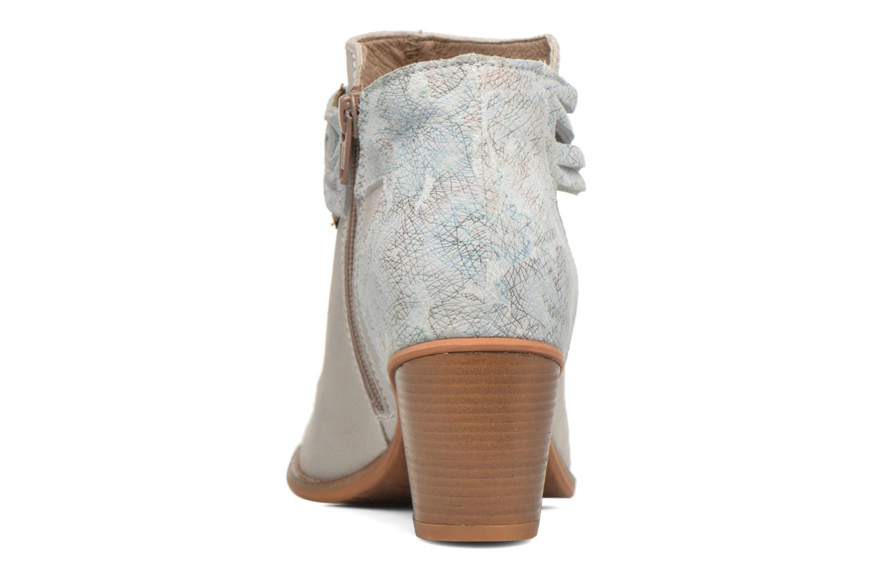 Bottines et boots Dkode Barak Blanc vue droite