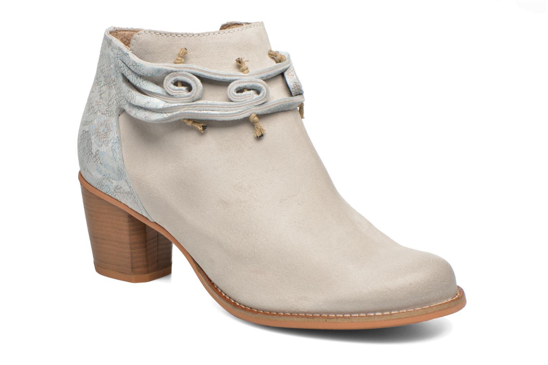 Bottines et boots Dkode Barak Blanc vue détail/paire