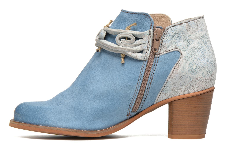 Bottines et boots Dkode Barak Bleu vue face