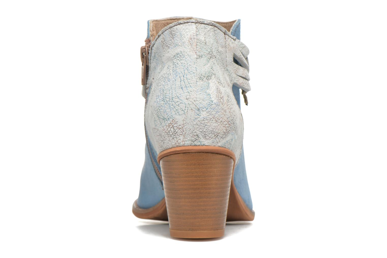 Bottines et boots Dkode Barak Bleu vue droite