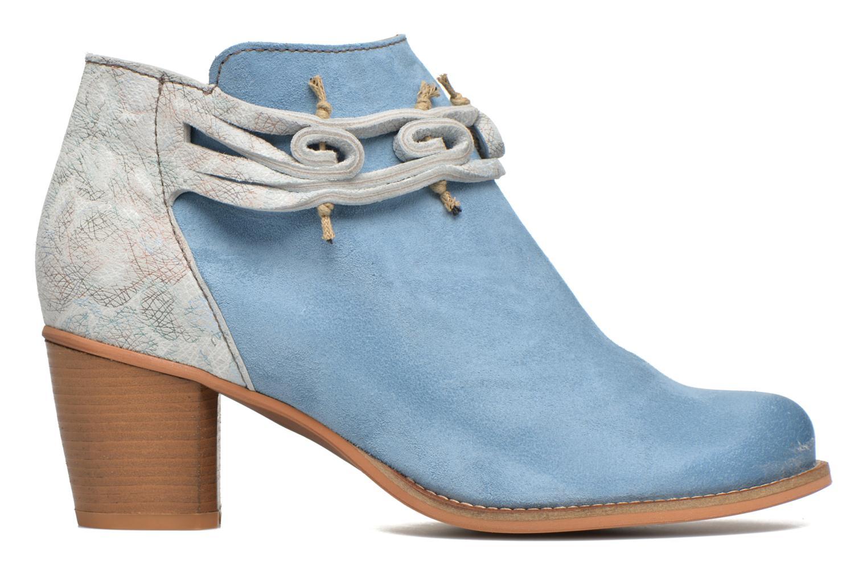 Bottines et boots Dkode Barak Bleu vue derrière