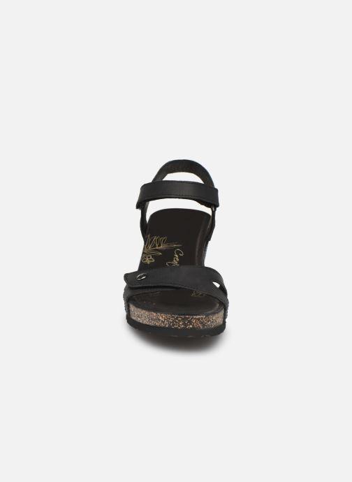 Sandales et nu-pieds Panama Jack Julia Noir vue portées chaussures