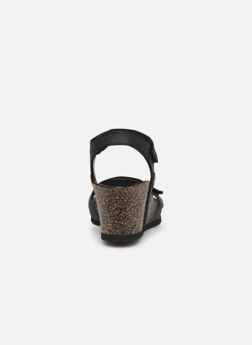 Sandales et nu-pieds Panama Jack Julia Noir vue droite