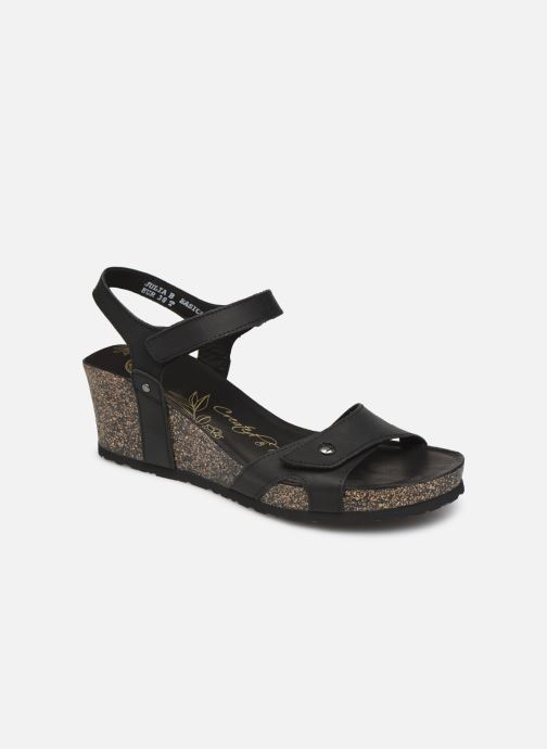 Sandales et nu-pieds Panama Jack Julia Noir vue détail/paire