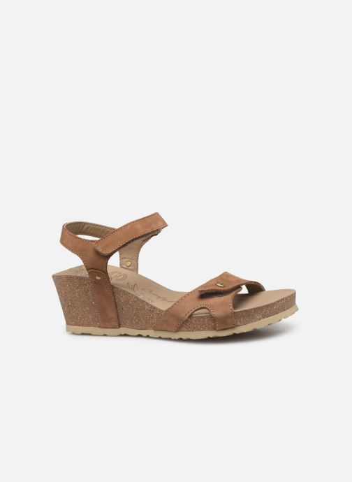 Sandales et nu-pieds Panama Jack Julia Marron vue derrière