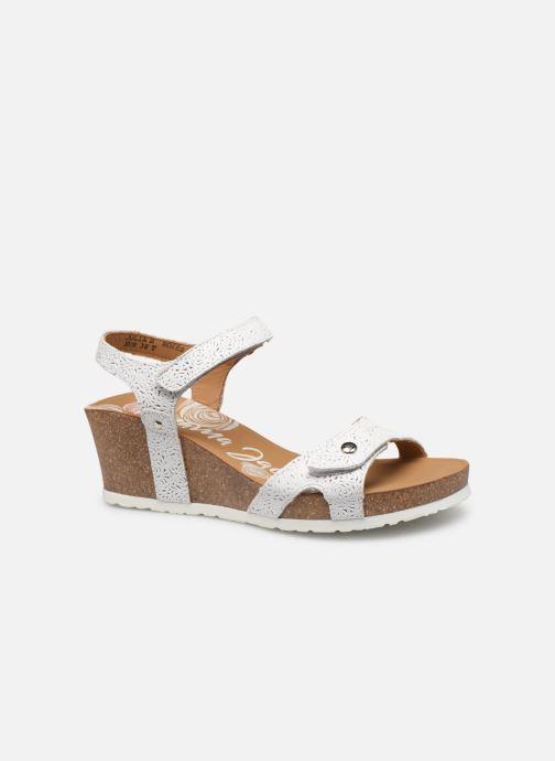 Sandalen Panama Jack Julia Wit achterkant