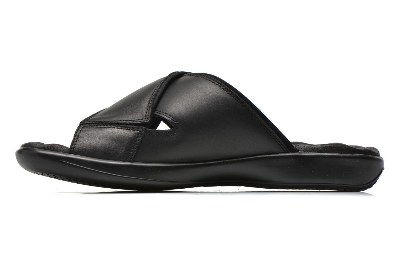 Sandales et nu-pieds Panama Jack Magic Noir vue face