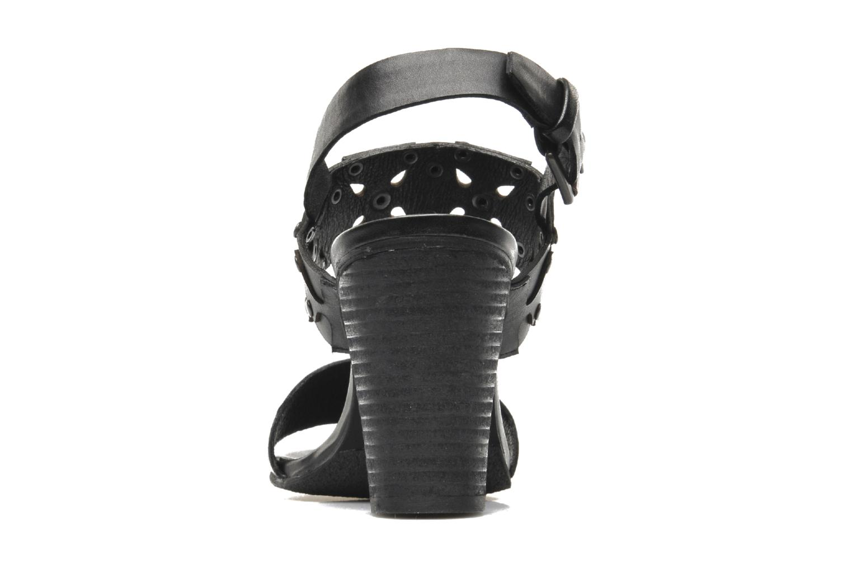 Sandales et nu-pieds SPM Gerbil Noir vue droite