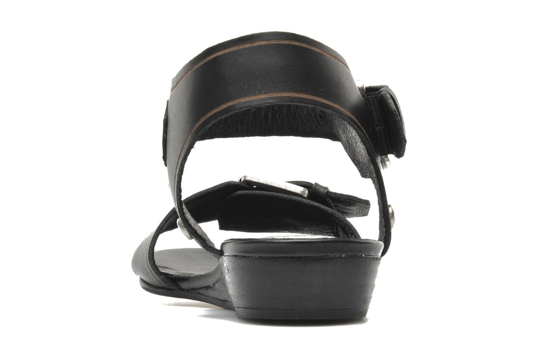Sandales et nu-pieds SPM Olm Noir vue droite