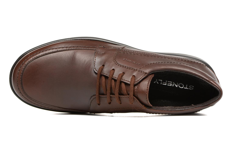 Chaussures à lacets Stonefly Season III 2 Marron vue gauche