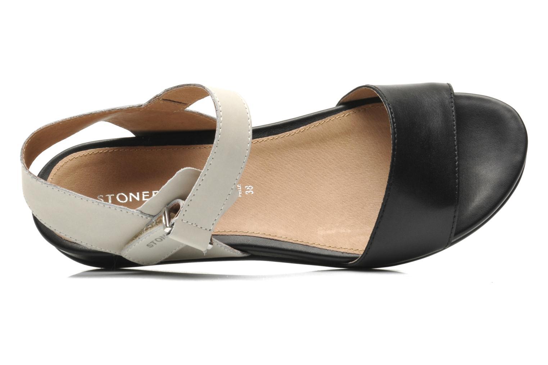 Sandales et nu-pieds Stonefly Eve I Noir vue gauche